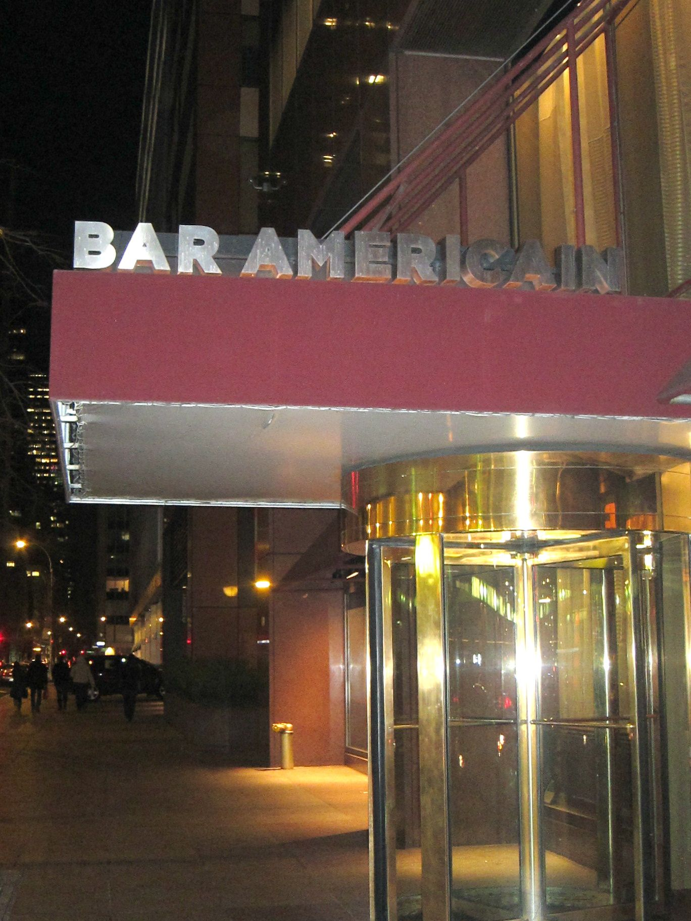Bar americain