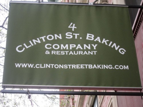 clinton st baking company restaurant 4 clinton street new york ny ...