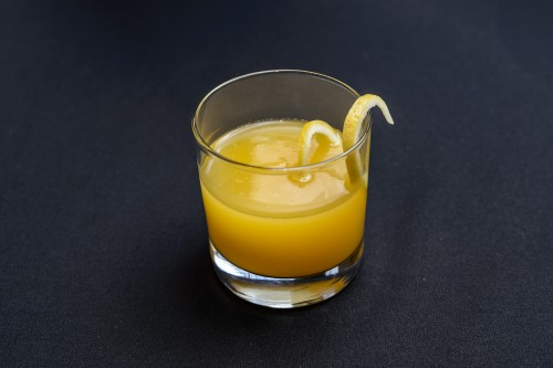 The Maille Boutique in New York - Tasting Event - Mango A la Maille Cocktail