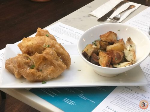 Fiskur bistro by icelandic fish chips west village nyc for Icelandic fish and chips nyc
